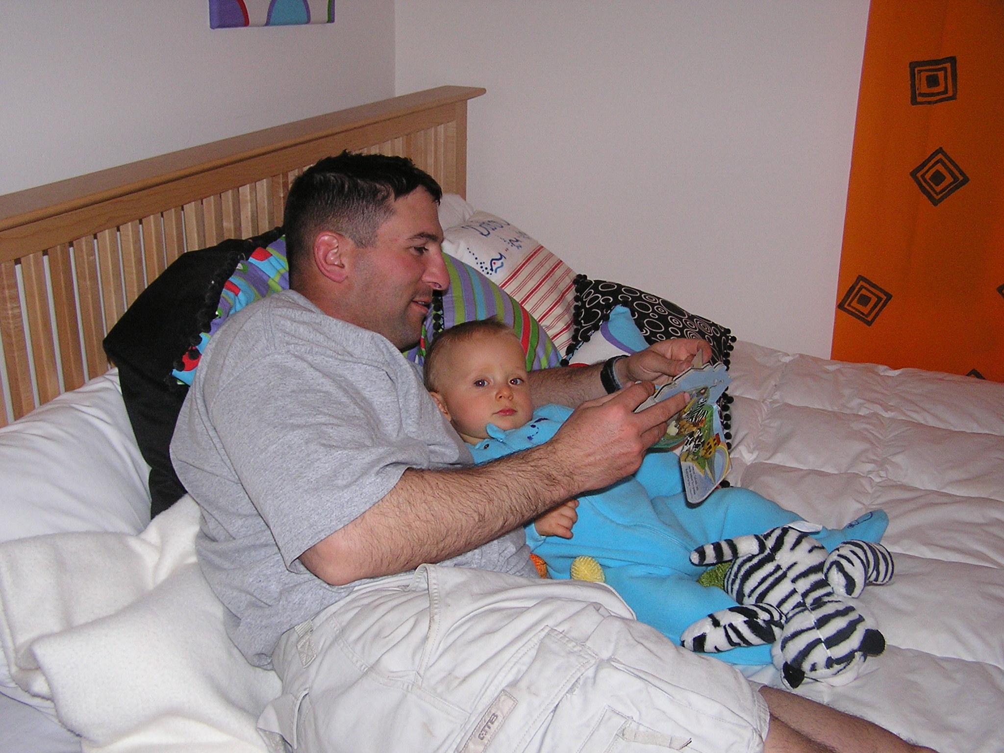 Meet Doug As He Reads To His Son