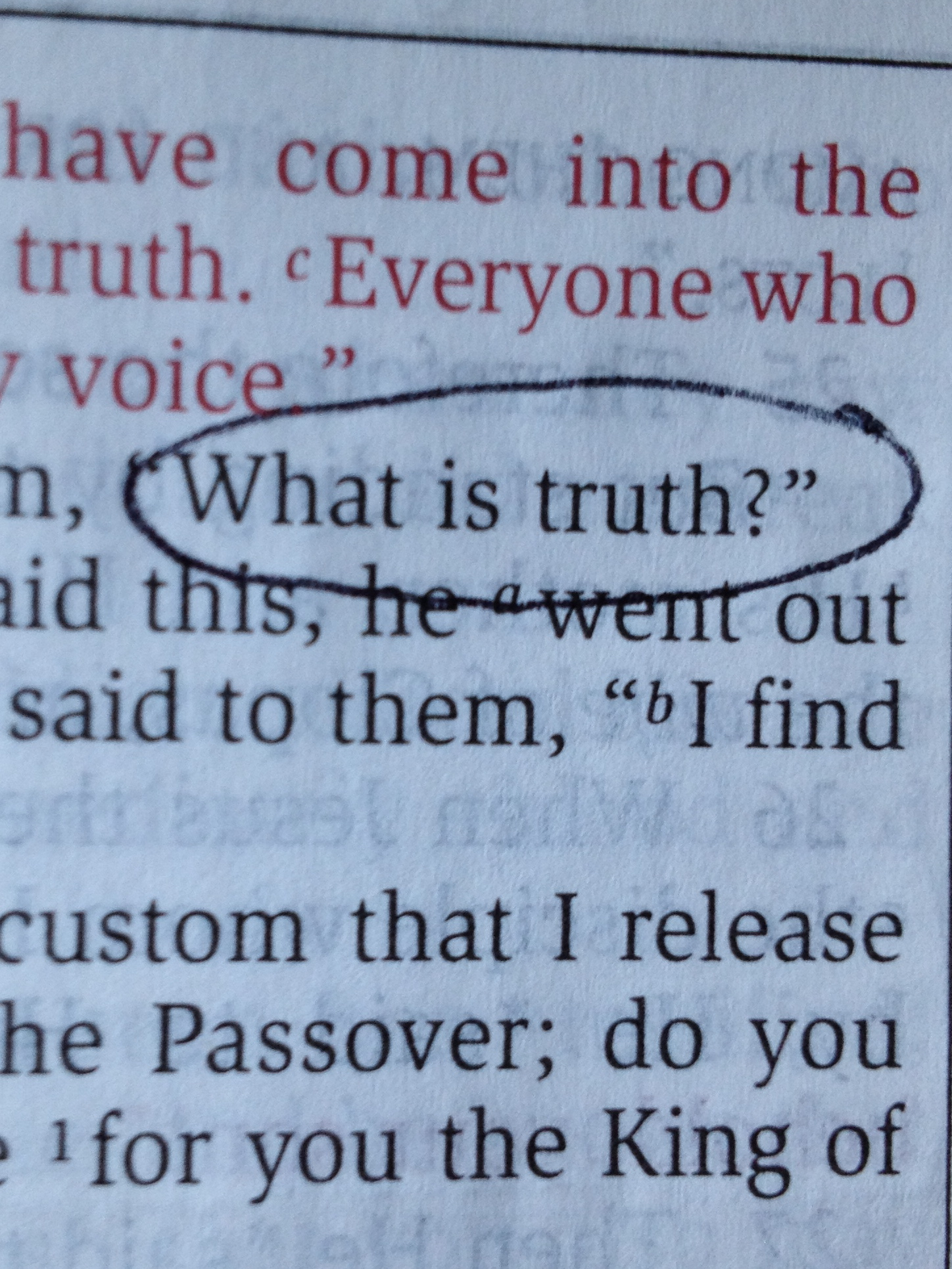 What is truth 87